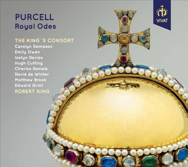 Purcell. Royal Odes Robert King & The King's Consort