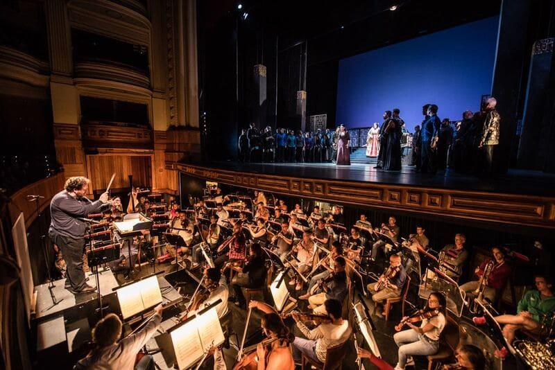 Ensayos de Turandot en Las Palmas de Gran Canaria © Ópera de Las Palmas
