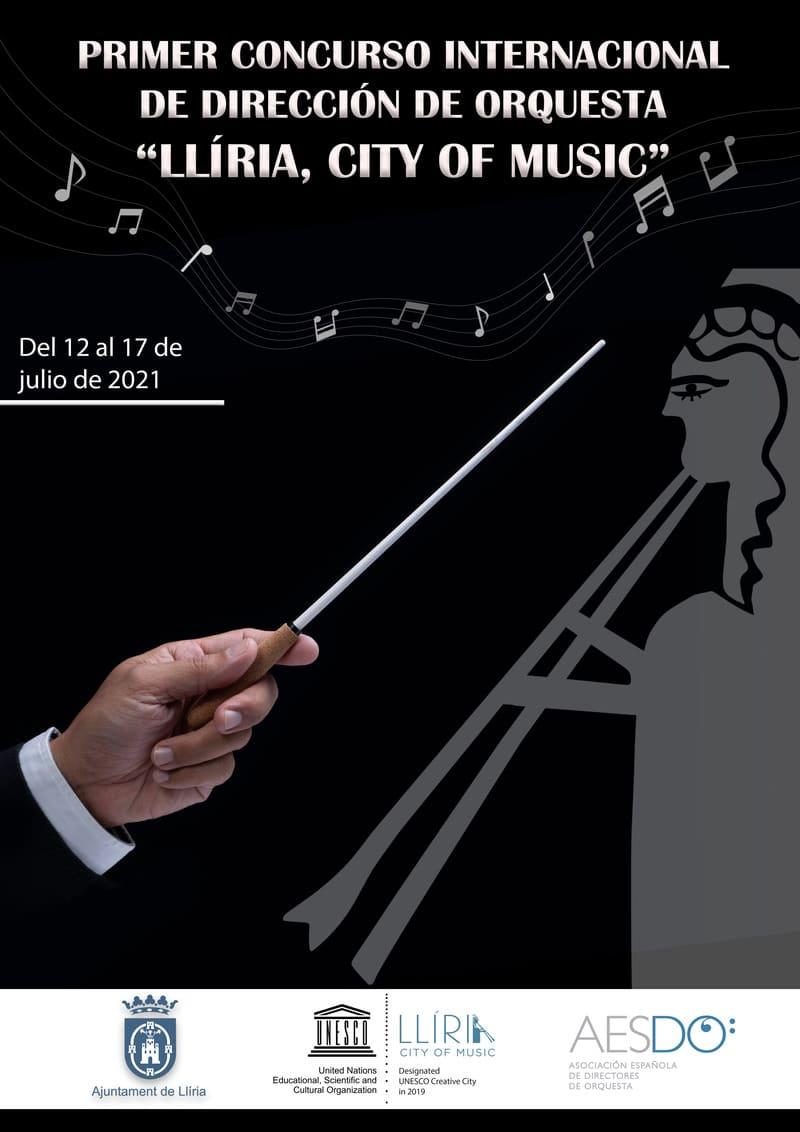 Cartel Concurso Dirección Orquesta Llíria