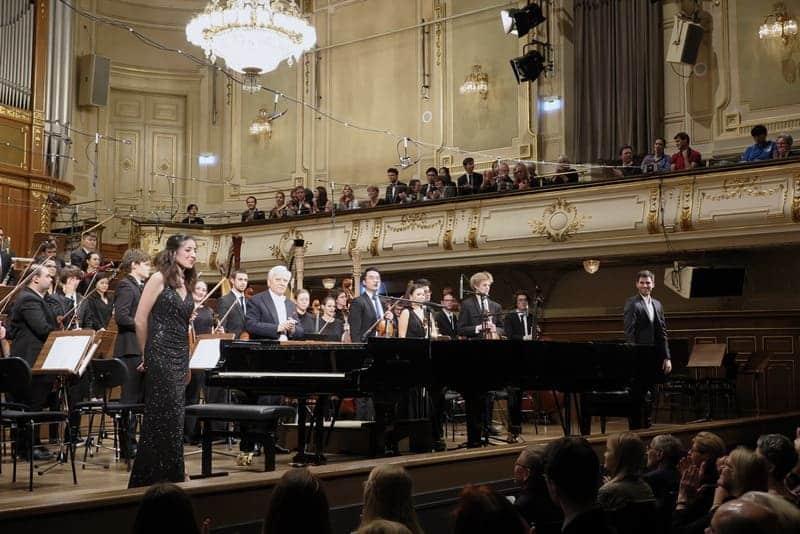 Antón & Maite en el Musikverein de Graz