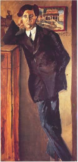 Retrato Alban Berg 1910