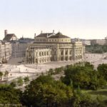 Teatro Nacional de Austria en Viena en 1900.