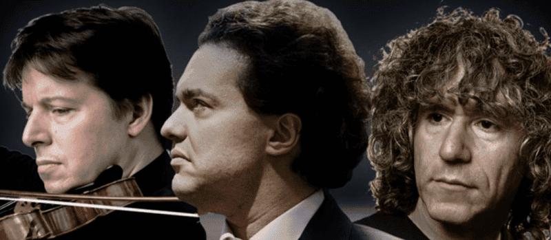 El trío de Joshua Bell, Steven Isserlis y Evgeny Kissin, en Ibermúsica