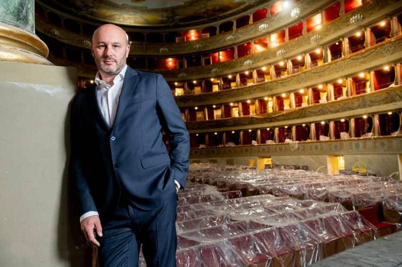 Riccardo Frizza en el Teatro Donizetti de Bérgamo