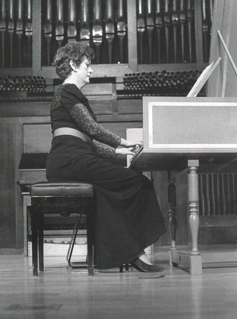 Genoveva Gálvez © Archivo fotográfico de la Fundación Juan March