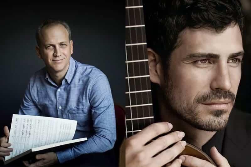Carlos Miguel Prieto y Pablo Sáinz Villegas, con la OCNE