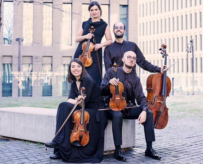 El Cuarteto Cosmos en el Liceo de Cámara XXI