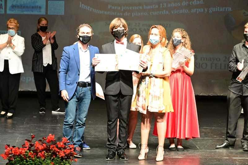 El ganador del Concurso, Guillermo Hernández Barrocal