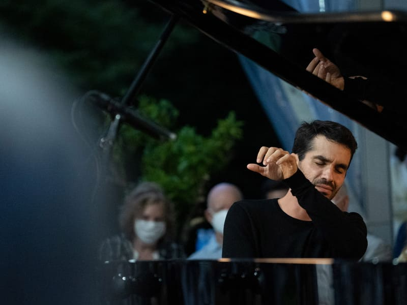 Juan Pérez Floristán, ganador del concurso de piano Arthur Rubinstein