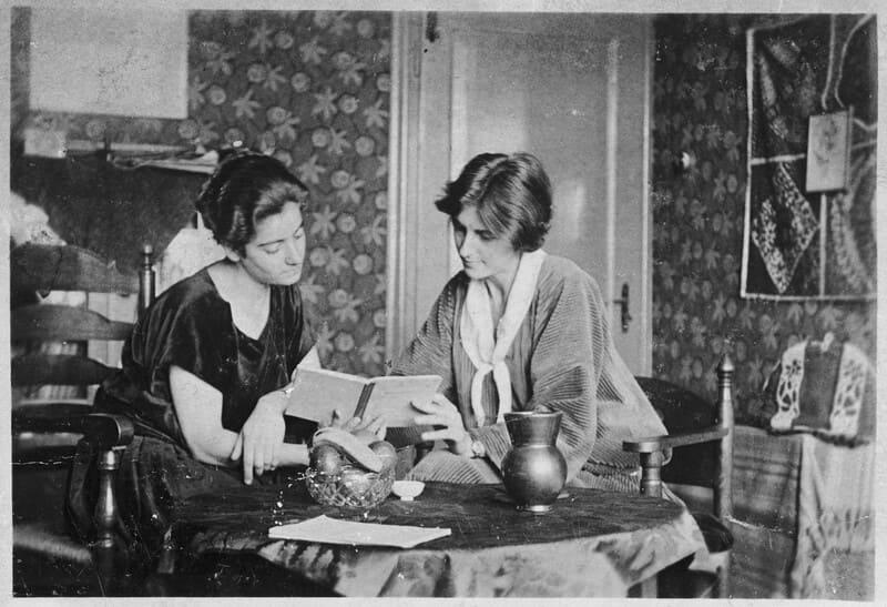 Frieda Belinfante y Henriëtte Bosmans