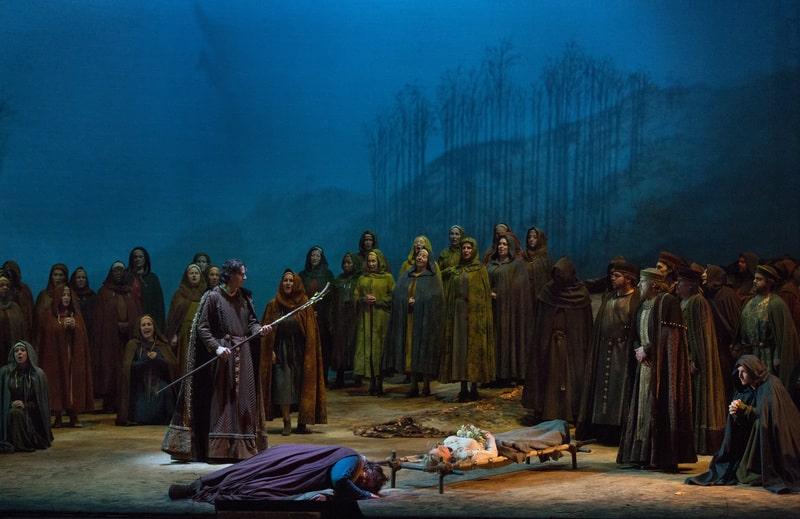 Tannhäsuer, montaje de James Levine © Metropolitan Opera / Marty Sohl