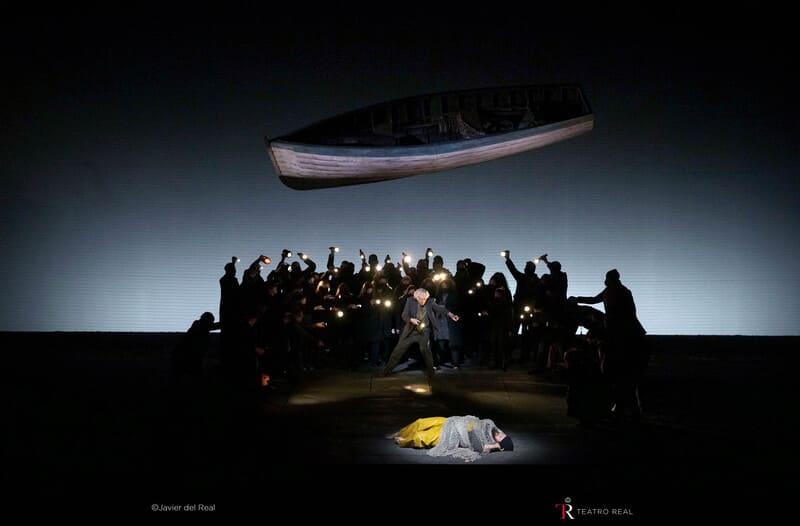 'Peter Grimes', vía streaming, desde el Teatro Real