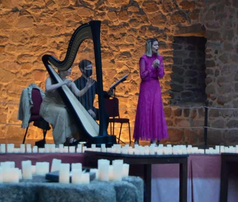 'Aurum', la música de las velas, en Madrid