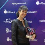 Alba Ventura en los Premios MIN © Rodrigo Mena