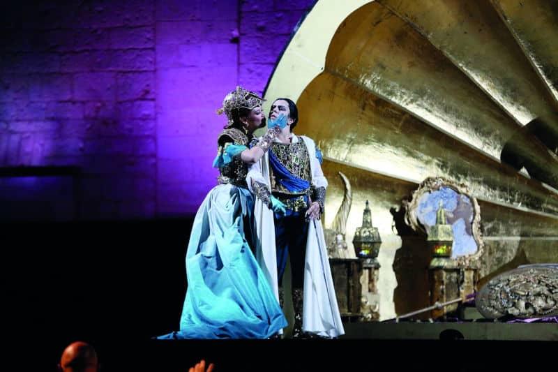 Orlando Furioso, montaje de Fabio Ceresa (Teatro La Fenice de Venecia) © Paolo Conserva