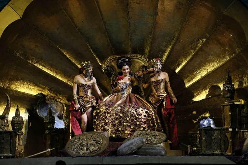 Orlando Furioso, montaje de Fabio Ceresa (Teatro Malibran de Venecia) © Michele Crosera