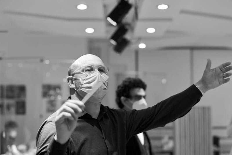 Riccardo Frizza en París, ante 'La Sonnambula'