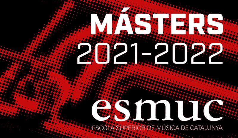 Últimos días de inscripción a los másteres de la ESMUC