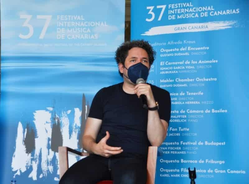 Gustavo Dudamel y la MCO, juntos en Canarias