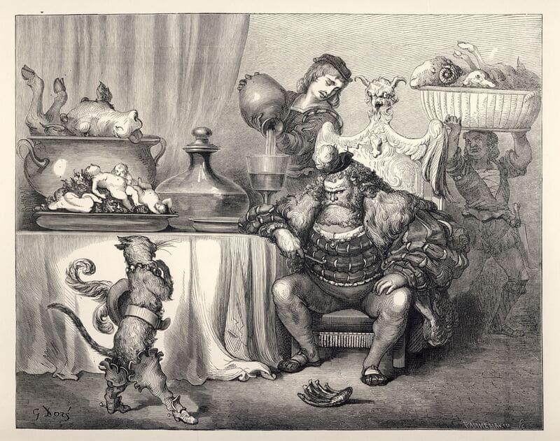 Le Maître Chat ou le Chat botté de Perrault