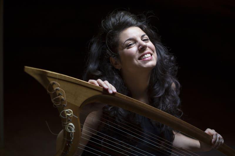 Sara Águeda, arpa