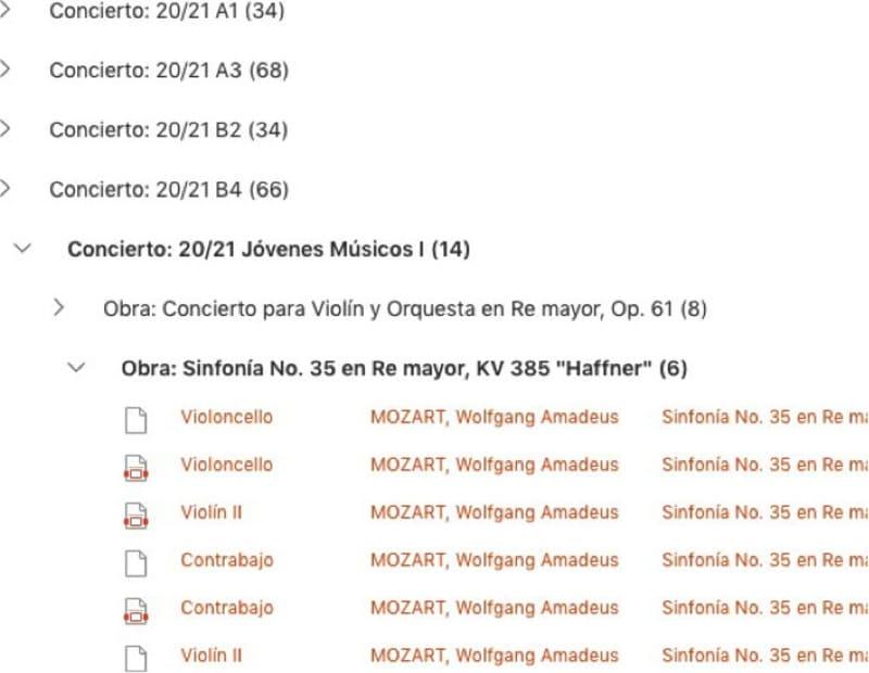 Rolling Scores, de la Orquesta y Coro RTVE