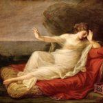 Ariadna abandonada por Teseo, por Angelica Kauffmann, 1774