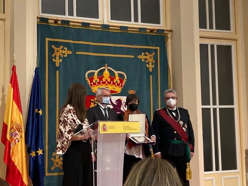 El Archivo Manuel de Falla recibe la Placa de Honor de la Orden Civil Alfonso X el Sabio